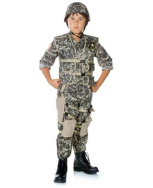 Us Army Soldier Kid Costume Deluxe