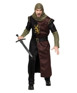 Valiant Knight Classic Men Costume