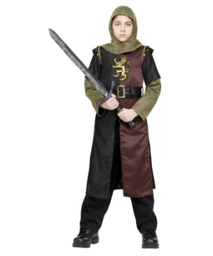 Valiant Knight Boys Costume