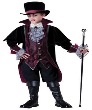 Vampire of Versailles Kids Costume