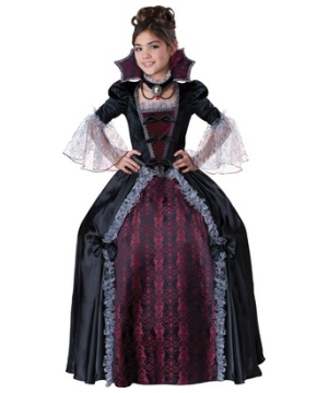 Vampiress of Versailles Girl Costume