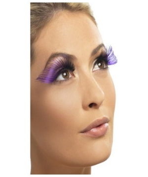 Long Purple Adult Eyelashes