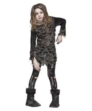 Walking Zombie Kids Costume