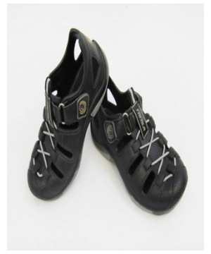 Black Trailbreak Clog – Baby/kids Shoes