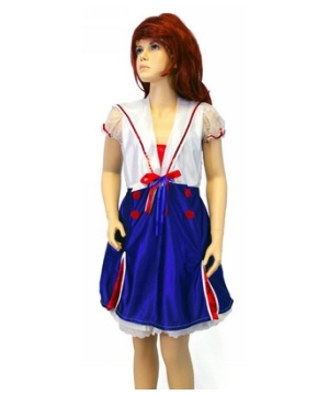 Sweet Sailor deluxe Girls Costume