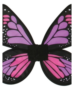 Adult Purple Satin Butterfly Wings