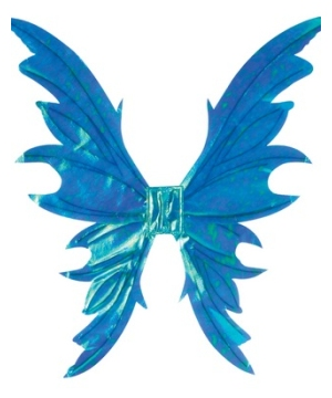 Opal Blue Fairy Adult Wings