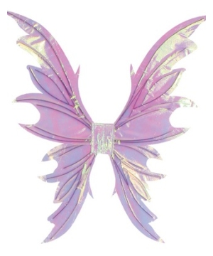 Fairy Adult Wings Opal White