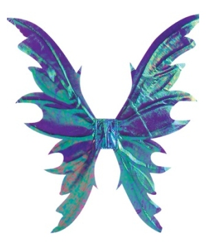 Fairy Adult Wings Opal Purple