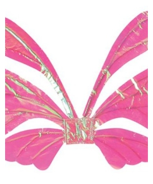 Wings Tail Adult Opal Pink