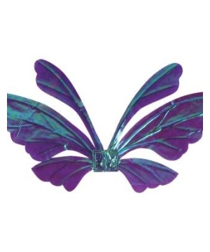 Tail Adult Wings Opal Purple