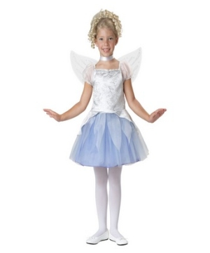 Winter Fairy Girl Costume