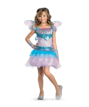 Winx Club Bloom Girl Costume deluxe
