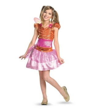Winx Club Stella Girl Costume