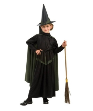 Wiz of Oz Wicked Witch Kids Costume