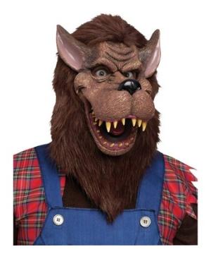 Big Bad Wolf Adult Mask