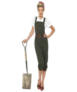 Ww2 Land Girl Adult Costume