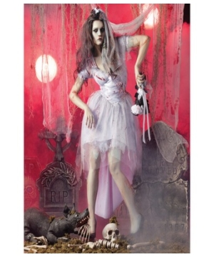 Zombie Bride Girls Adult Costume