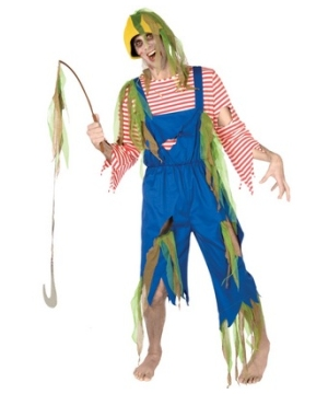 Zombie Fisherman Adult plus size Costume