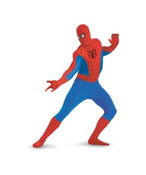 Spider Man Bodysuit Kids/ Teen Costume Deluxe