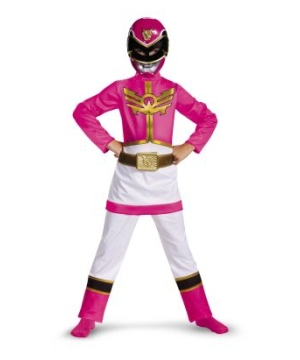 Pink Power Ranger Megaforce Kids Costume