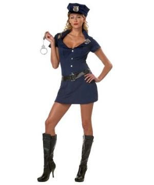 Police Women Adult Costume
