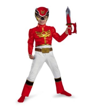 Red Ranger Megaforce Baby Costume