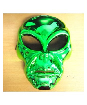 Green Alien Movie Adult Mask