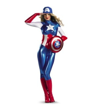 Captain America Dream Adult Costume deluxe