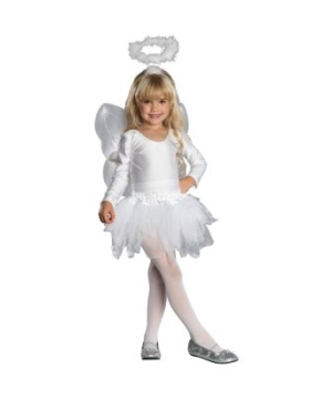 Adorable Angel Kids Costume
