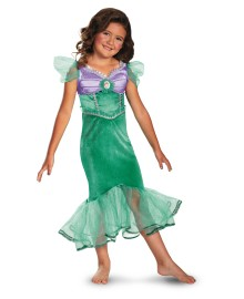 Ariel Sparkle Classic Disney Girls Costume