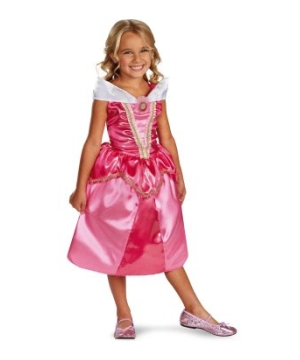 Aurora Sparkle Classic Disney Girls Costume