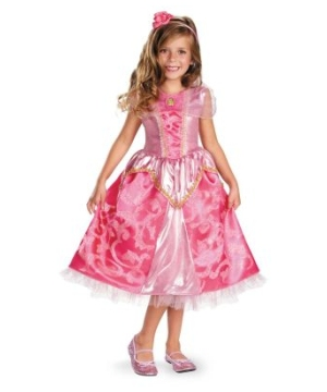 Aurora Sparkle Girls Costume deluxe