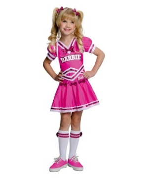 Barbie Cheerleader Kids Costume