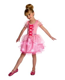 Barbie Light Up Girls Costume
