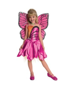 Barbie Mariposa Toddler/kids Costume deluxe