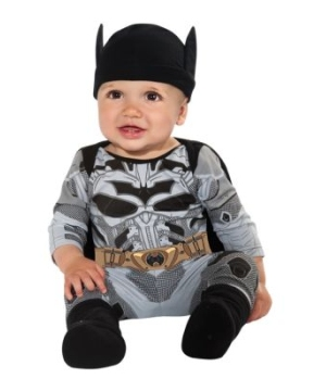 Batman Suit Baby Costume