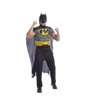 Batman Muscle Chest Kit Adult Costume