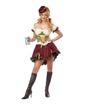 Sexy Beer Garden Womens Costume