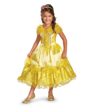 Belle Sparkle Kids Costume deluxe