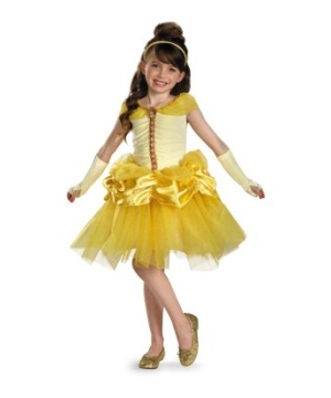 Belle Tutu Disney Girls Costume Prestige