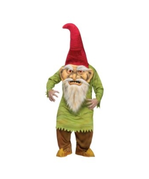 Big Head Evil Gnome Adult Costume