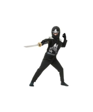 Black Ninja Avengers Series Ii Toddler/kids Costume