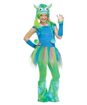 Blue Beastie Teen Costume