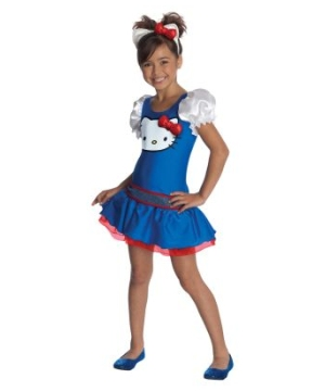 Blue Hello Kitty Kids Costume
