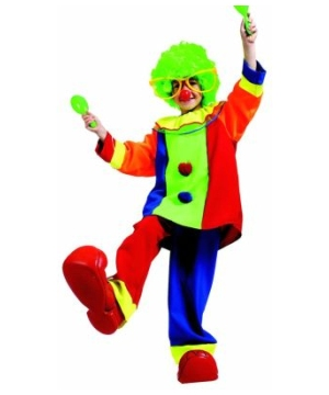 Bobo Clown Boys Costume