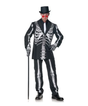 Bone Daddy Adult plus size Costume