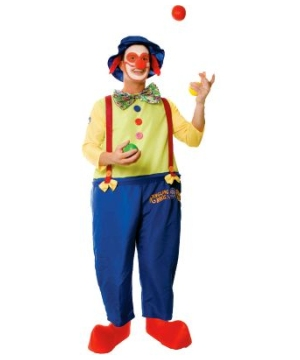 Bowtie Clown Adult Costume