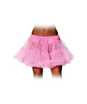 Bubblegum Petticoat Adult Tutu