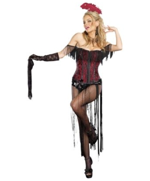 Sexy Burlesque Adult Costume
